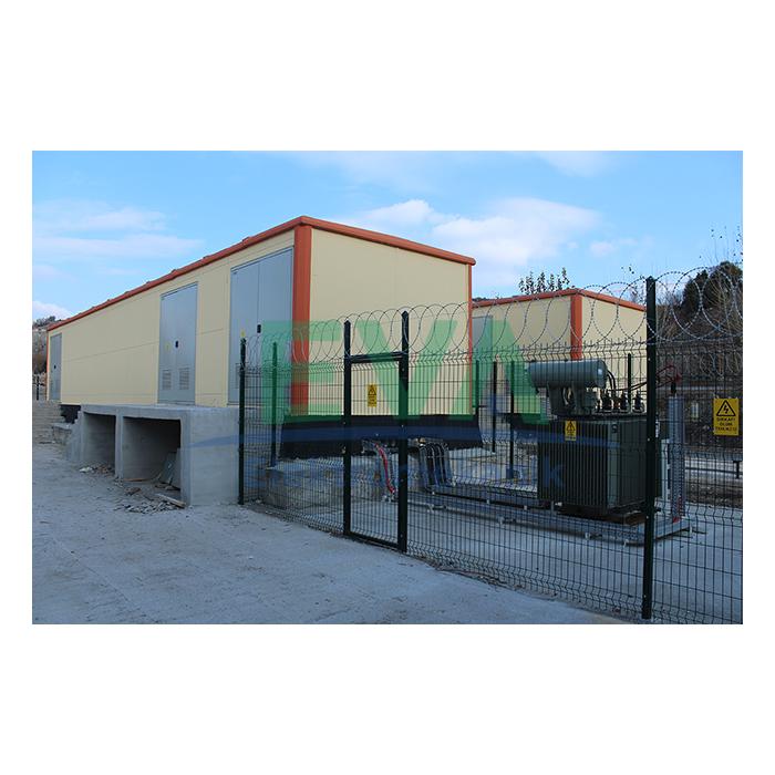 Prefabrik Beton Köşk Trafo Merkezi