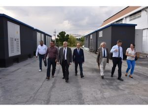 Ostim OSB Yönetimi ve Ostim Teknik Üniversitesi Öğretim Üyeleri Fabrikamızda