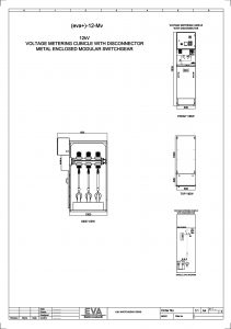 Voltage Metering Cubicle with Disconnector