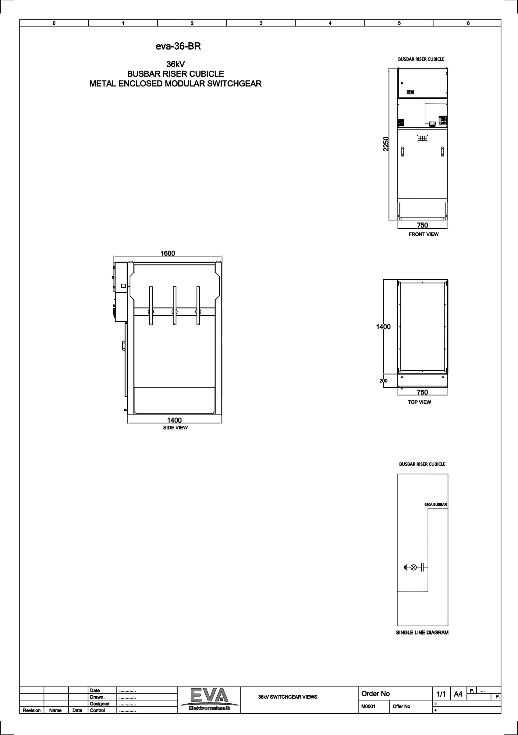 Busbar Riser Cubicle