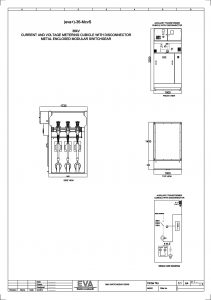 Current and Voltage Metering Cubicle with Disconnector
