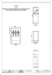 Incoming Outgoing Cubicle with Load Break Switch (LBS)