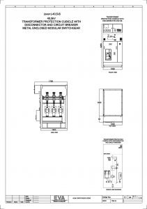 Transformer Protection Cubicle with Disconnector and Circuit Breaker (CB)
